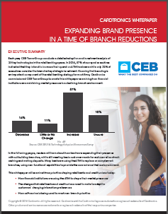 Expanding Brand Presence in a Time of Branch Reductions